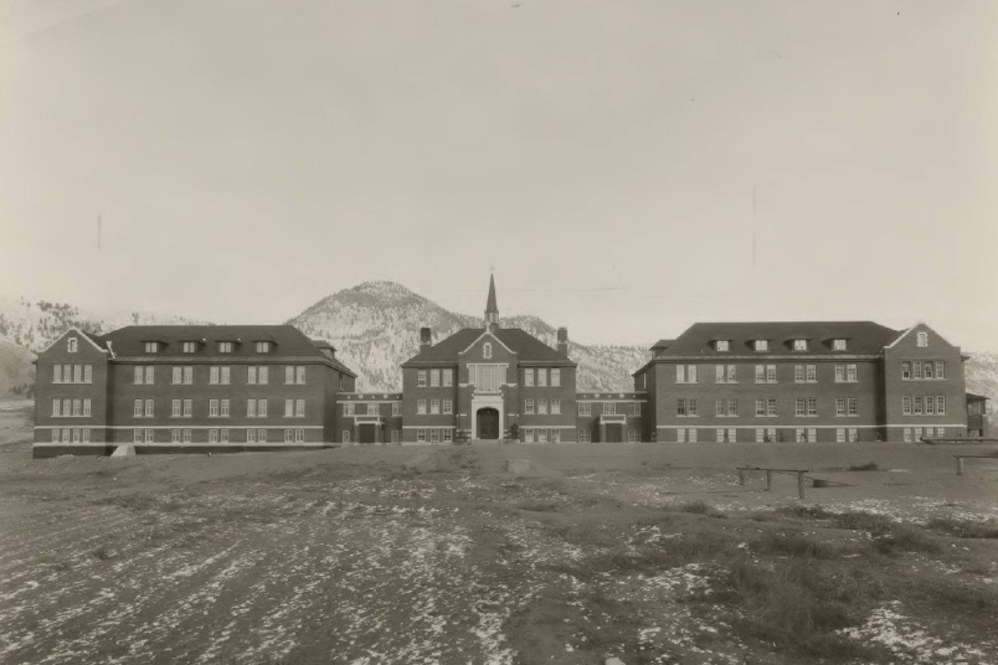 The Kamloops Indian Residential School, circa 1930. (Photograph COURTESY ARCHIVES DESCHÂTELETS-NDC, RICHELIEU/Kamloops This Week)